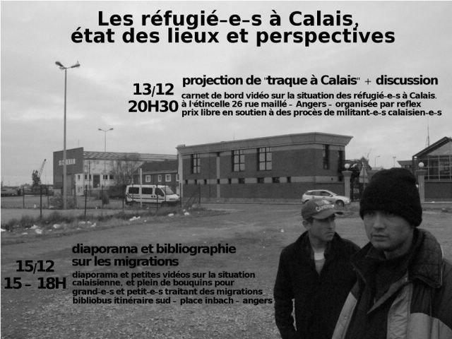 Calais Réfugiés affiche