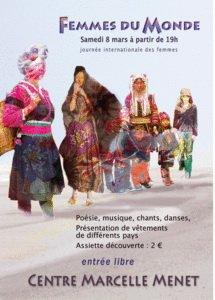 Femmes du Monde Soiree festive 8 mars 2008 Angers