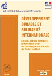 Developpement durable et solidarite internationale