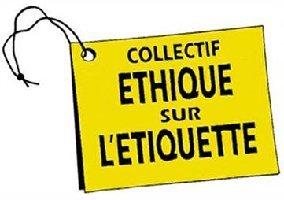 logo collectif ethique sur etiquette