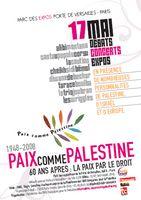 17 mai paix comme palestine paris porte de versailles