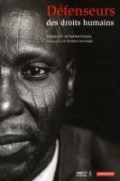 livre défenseurs des droits humains