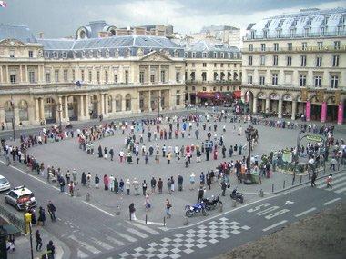 cercle de silence paris palais royal