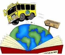 bibliobus itineraire sud logo