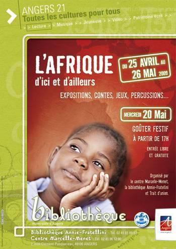Animations afrique bibliothèque annie fratellini