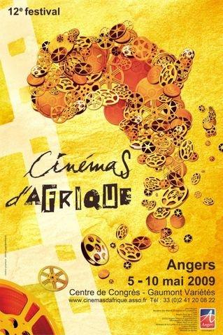 affiche festival 2009 cinémas d'afrique