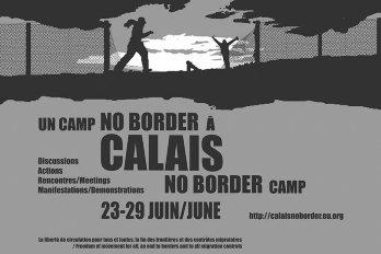 Calais no border affiche