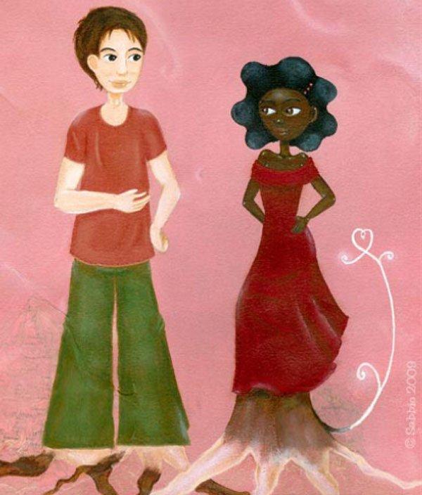 le grand secret d'abeba album enfant sur le thème de la différence les origines