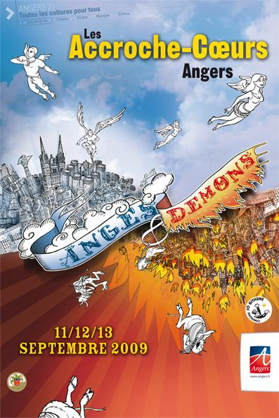 angers accroche coeurs 2009