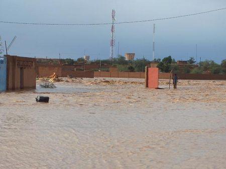 Inondations à Agadez septembre 2009