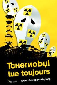 Affiche Tchernobyl Day 2010